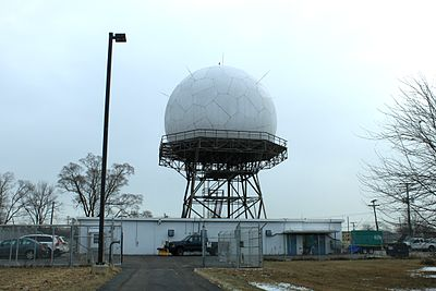 FAA Joint Surveillance Site radar, Canton, Michigan FAA Joint Surveillance Site Canton Michigan.JPG