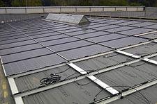 Fotovoltaico architettonicamente integrato wikipedia for Fai il capannone