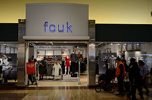 French Connection (clothing) - fcuk in Vaughan Mills Mall, Canada