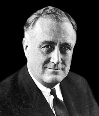 1936 United States presidential election in South Carolina - Image: FDR in 1933 2