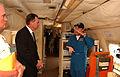 FEMA - 30123 - FEMA Administrator Paulison in hurricane hunter aircraft.jpg