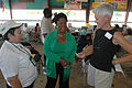 FEMA - 39096 - Congresswoman Sheila Jackson-Lee visits a FEMA Disaster Recovery Center in Texas.jpg