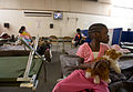FEMA - 40530 - Residents at a temporary Red Cross shelter in Fargo in North Dakota.jpg