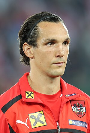 Emanuel Pogatetz - Pogatetz with Austria in 2012