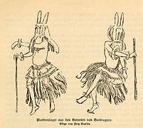 FROBENIUS(1911) Fig16 Maskierte Tänzer aus den Vororten von Bandiagara.jpg