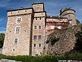 Façade sud du château de Montrozier.JPG