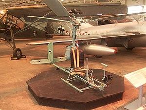 Focke-Achgelis Fa 330 - Image: Fa 330 100503 Cosford