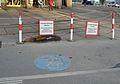 Fahrräder befestigen verboten, Kennedybrücke 03.jpg