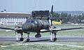 Fairchild Swearingen Tp88 Metro III-AEW 88003 - 883 Sweden - Air Force, Farnborough UK, September 1988. (5589870726).jpg