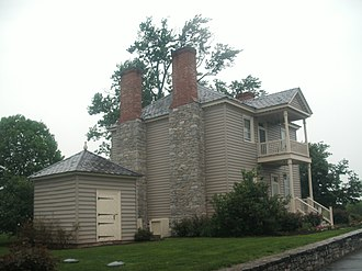 National Register of Historic Places listings in Warren County, Virginia - Image: Fairview, side view 2