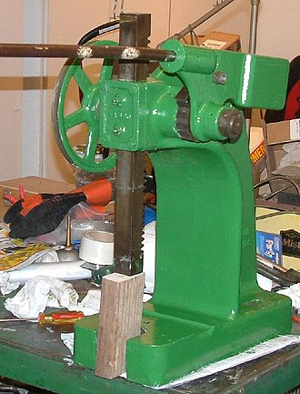 Arbor press - A 4-ton ratcheting arbor press