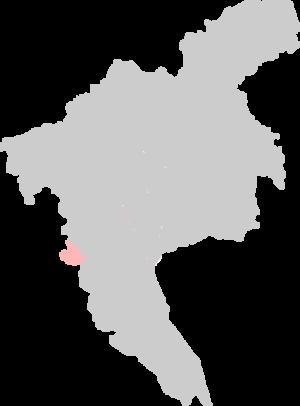 Fangcun District - Location of Fangcun on Guangzhou.