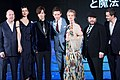 Fantastic Beasts and Where to Find Them Japan Premiere Red Carpet- Eddie Redmayne, Dan Fogler, Katherine Waterston, Alison Sudol, David Yates, David Heyman & DAIGO (35623070576).jpg
