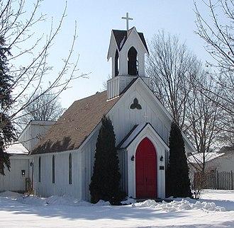 National Register of Historic Places listings in Dakota County, Minnesota - Image: Farmington Advent