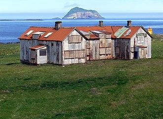 Fáskrúðsfjörður - Former French hospital