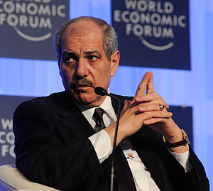Fayez Tarawneh - Tarawneh at the World Economic Forum on MENA and Eurasia (2012)