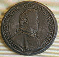 Ferdinando I granduke of tuscany coins, 1587-1609, piastra 1587.JPG