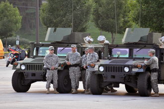 Missouri National Guard - Missourian national guardsmen in September 2014.