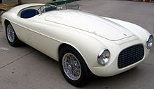 166mm Barchetta Replica The First Ferrari Badged