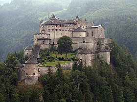 Image illustrative de l'article Château de Hohenwerfen