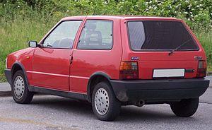 Fiat Uno - Fiat Uno 3-door
