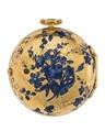 Fickur med boett av guld med ciselerad blomsterdekor, 1755 - Hallwylska museet - 110426.tif