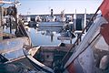 Fileyeurs et chalutiers dans le port de Chef de Baie.jpg
