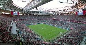 Krestovsky Stadium - Image: Fina l 2017