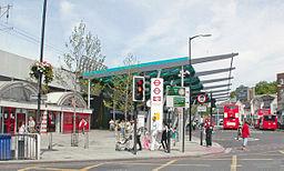 Finsbury Park Station, exterior 2007 geograph-3880560-by-Ben-Brooksbank