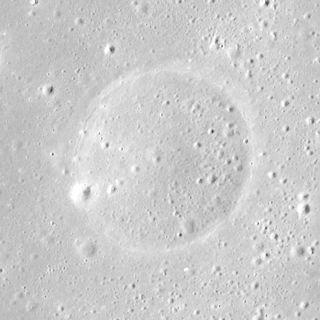Finsch (crater) lunar crater