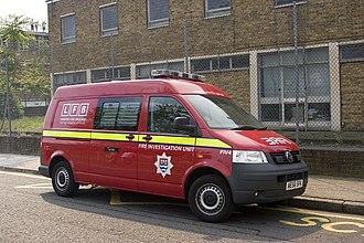Fire investigation - London Fire Investigation Unit