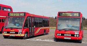 Midibus - Two Optare Solo midibuses