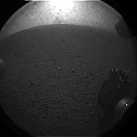 First picture sent by the Mars Curiosity rover.jpg