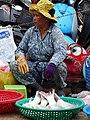 Fish Vendor in Market - Stung Treng - Cambodia (48436646897).jpg