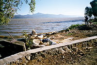 FisherMan inTheShoreOf Patzcuaro Lake MichoacanMexico.jpg