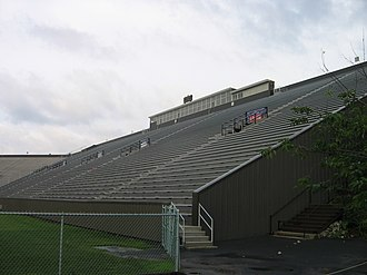 Fitton Field - 2008, home side of football stadium