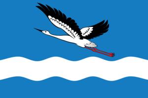 Amursk - Image: Flag of Amursk (Khabarovsk kray)