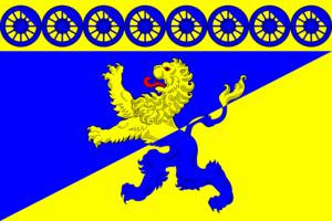 Lyuban (town), Leningrad Oblast - Image: Flag of Lyubanskoe (Leningrad oblast)