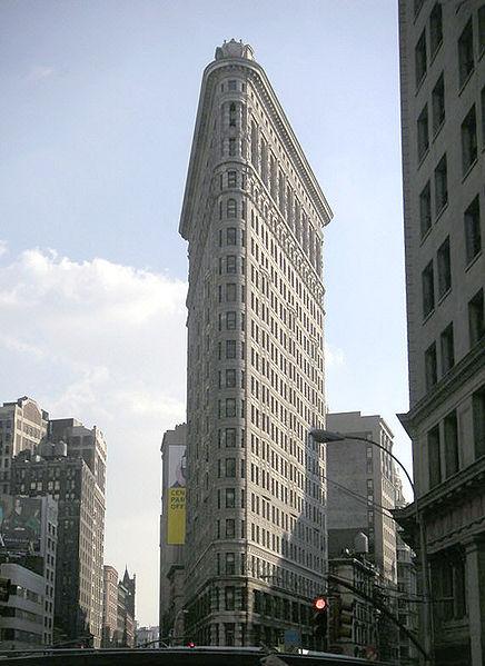 Fichier:Flatiron building by day september 20004.jpg