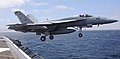 Flickr - Official U.S. Navy Imagery - A jet takes-off from the flight deck of USS Nimitz..jpg