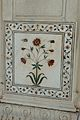 Floral Inlay Pillar Decoration - Diwan-i-Khas - Red Fort - Delhi 2014-05-13 3282.JPG