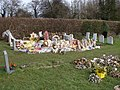 Floral tributes to Granny - geograph.org.uk - 338328.jpg