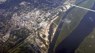 Florence, Alabama - Aerial view of Florence