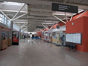 Sibiu International Airport - Check-in area