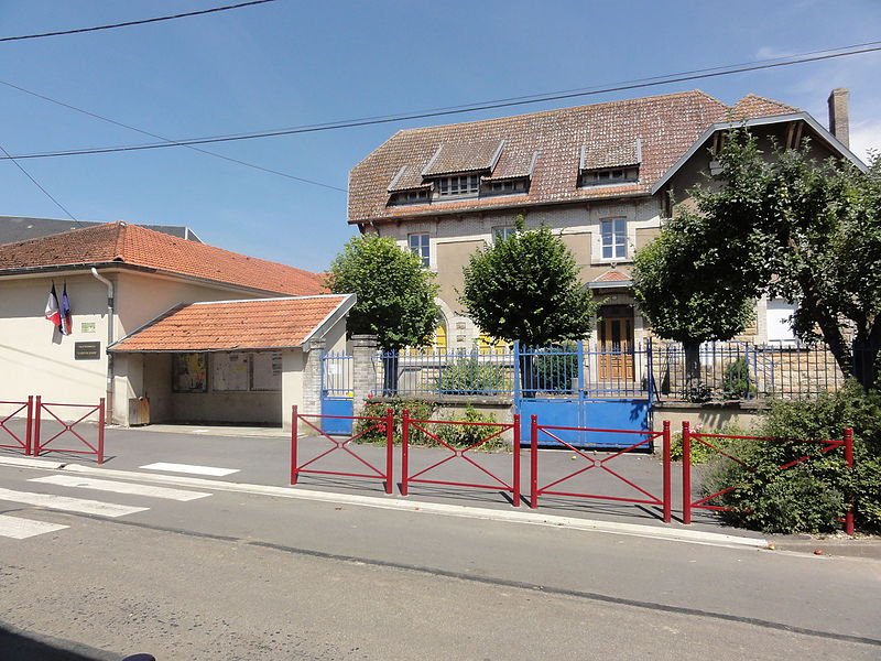 Foameix-Ornel (Meuse) mairie-école