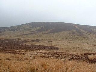 Foel y Geifr mountain in United Kingdom