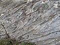 Folded Schist near Errislannan in County Galway in Ireland - geograph 4654567.jpg