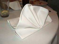 definition of napkin