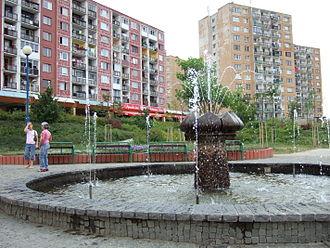 Sídlisko Ťahanovce - Image: Fontána SŤ