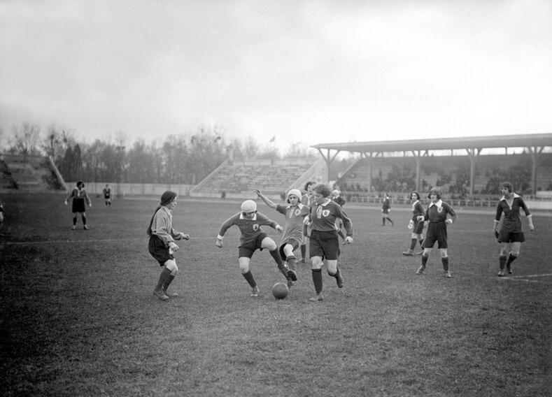 Image result for women's football 1920s